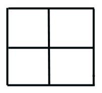 Image result for blank punnett square